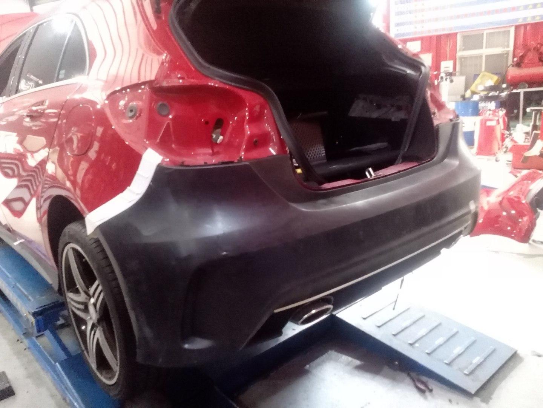 Zderzak tylny Mercedes Benz W176 13- AMG Style - GRUBYGARAGE - Sklep Tuningowy